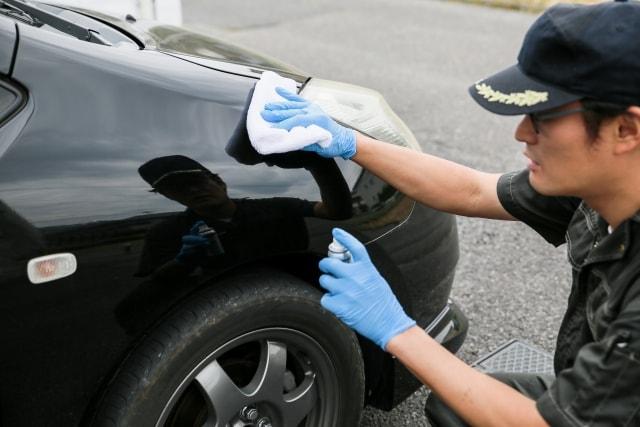 手洗い洗車でも汚れが落ちないときの対処