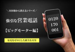 0120170001ビッグモーターからの営業電話の対策