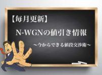 ホンダN-WGNの値引き